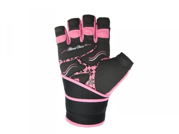 Fitness Chica pink palm g
