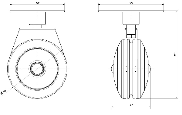 Kladkový stroj MARBO MH-W107