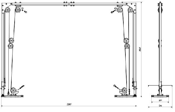 Kladkový stroj MARBO MH-W103