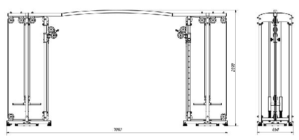 Kladkový stroj MARBO MS-W106