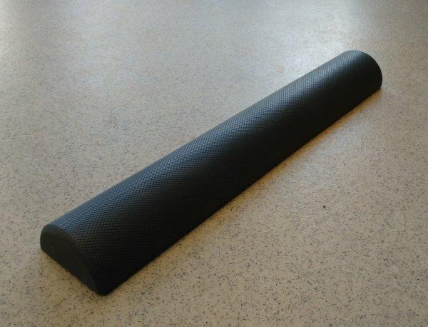 Foam ROLLER půlválec šedý detail