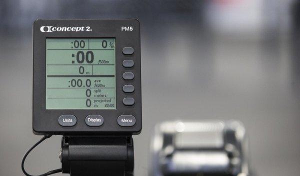 Veslovací trenažér CONCEPT 2 E + monitor PM5 black