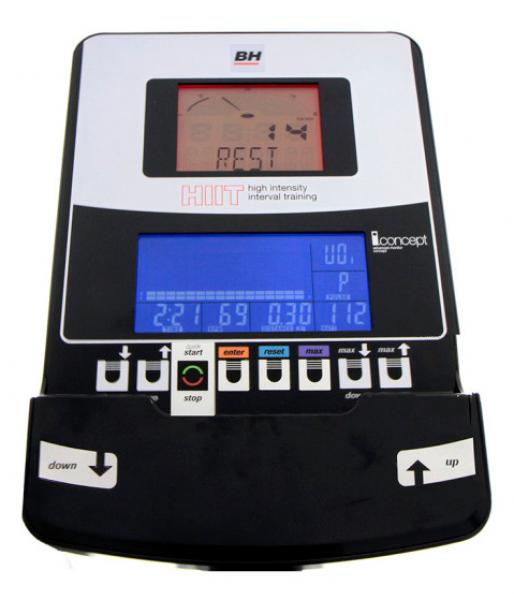 Eliptický trenažér BH Fitness Dual I Brazil HIIT Dual