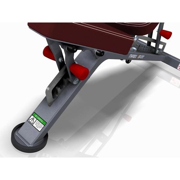 Posilovací lavice na jednoručky Variabilní posilovací lavice MARBO MP-L202 polohování sedáku