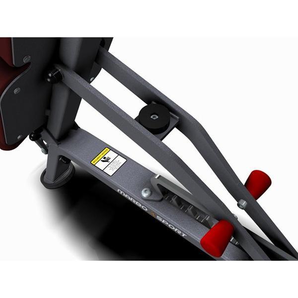 Posilovací lavice na jednoručky Variabilní posilovací lavice MARBO MP-L202 detail