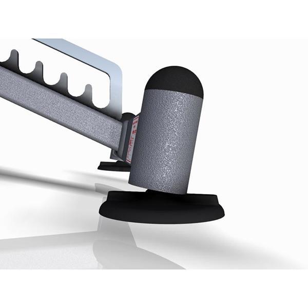Posilovací lavice na jednoručky Variabilní posilovací lavice MARBO MP-L202 nastavitelné nohy