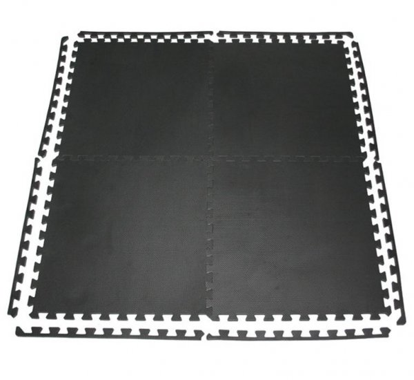 Podložka Fitness puzzle mat černá 4setg