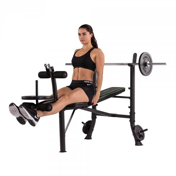Posilovací lavice na bench press TUNTURI WB40 Compact Width Weight Bench