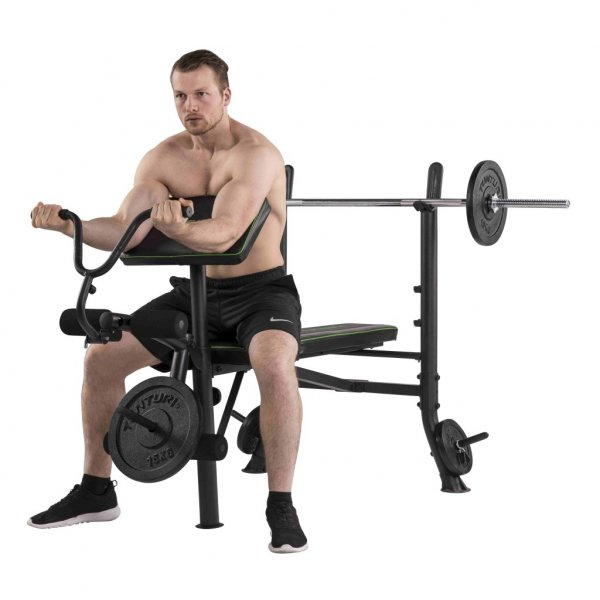 Posilovací lavice na bench press TUNTURI WB40 Compact Width Weight Bench