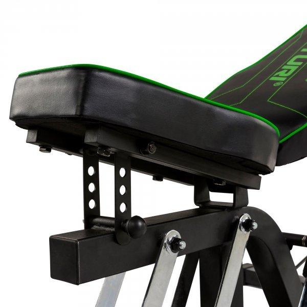 Posilovací věž  TUNTURI WT80 Leverage Gym polohování sedáku
