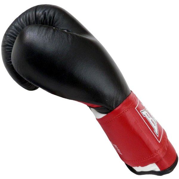 Boxerské rukavice 10 oz kůže Thai BAIL strana