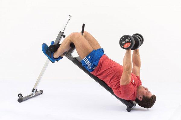 Posilovací lavice na břicho TRINFIT Ultra cvikg