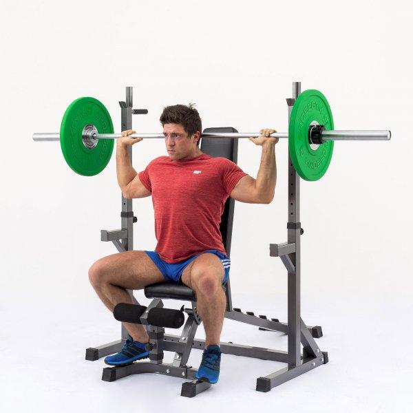 Stojan na činku TRINFIT Rack HX3 cvik ramenag