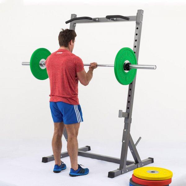 Stojan na činku TRINFIT Rack HX6 cvik bicepsg