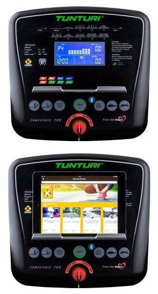 Běžecký pás Tunturi T40 počítač
