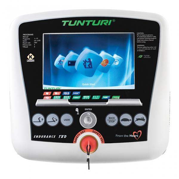 Běžecký pás Tunturi T80 počítač