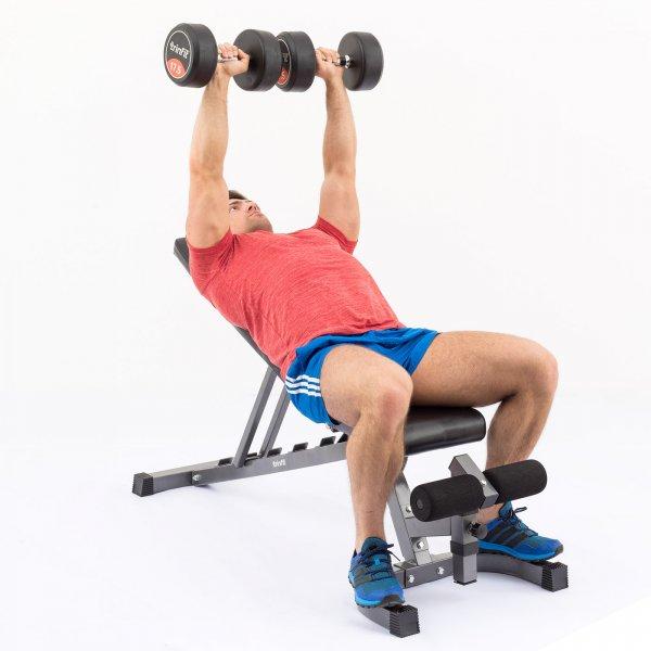 Posilovací lavice na břicho TRINFIT Vario LX6 cvik 08g