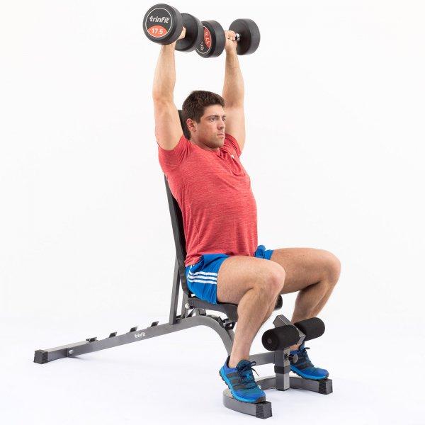 Posilovací lavice na břicho TRINFIT Vario LX6 cvik 23g