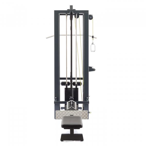 Posilovací věž  Profesionální posilovací kladková věž TITANUM 1030 profilg