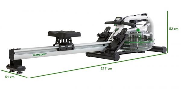 Tunturi R80 rozměry trenažeru