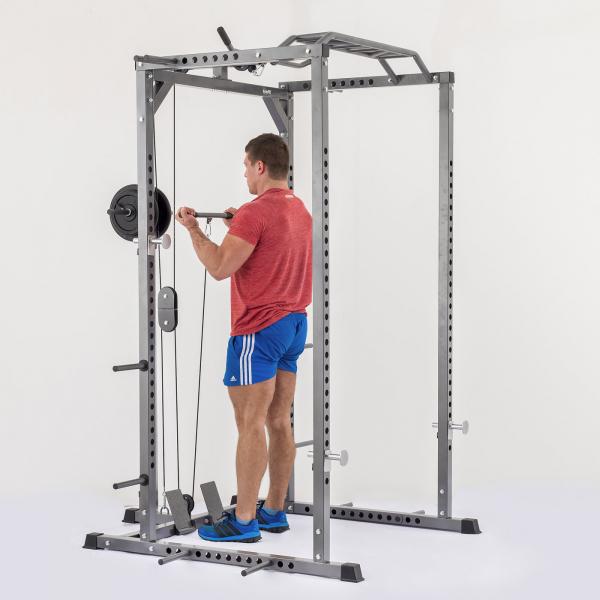 Stojan na činku TRINFIT Power Cage PX6 bicepsg
