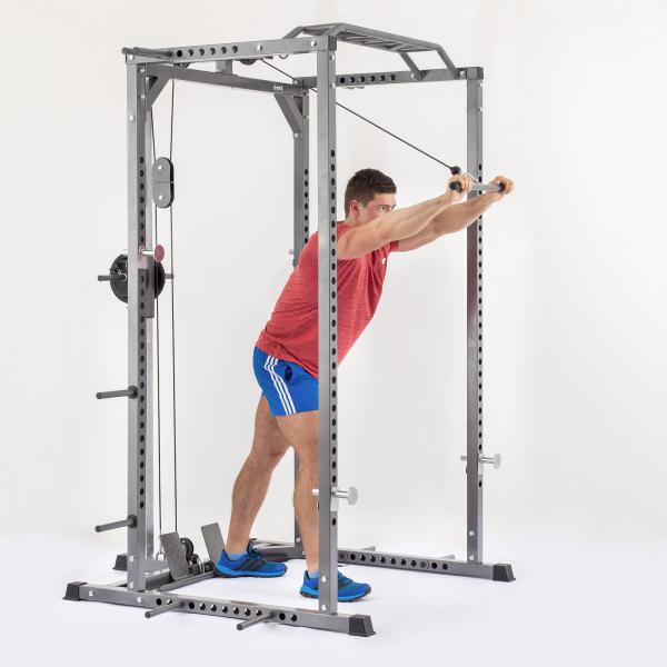 Stojan na činku TRINFIT Power Cage PX6 tricepsg