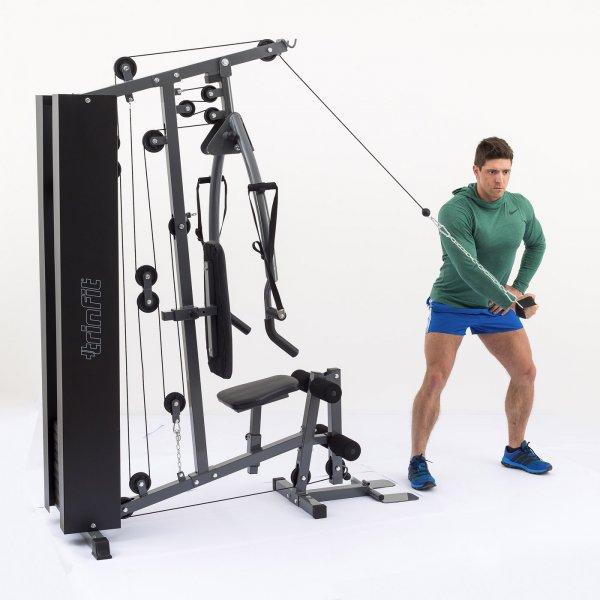 Posilovací věž  TRINFIT Gym GX3 připažováníg