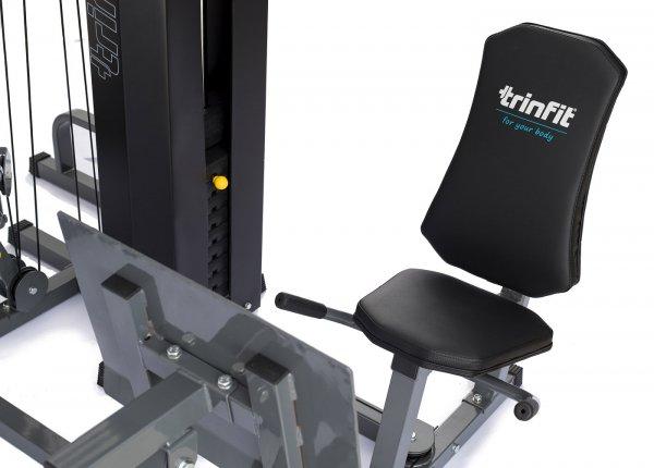 Posilovací věž  TRINFIT Gym GX7 legpress rukojetig
