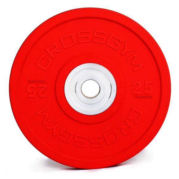Kotouče bumper plate cross gym 25kg