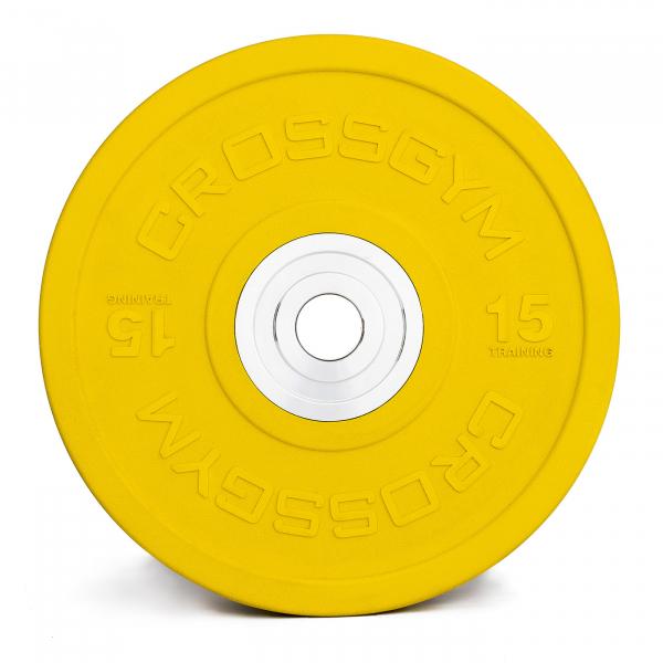 Kotouče bumper plate cross gym15g