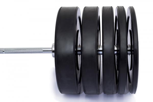 Odhazovací gumové kotouče bumper plate training osag