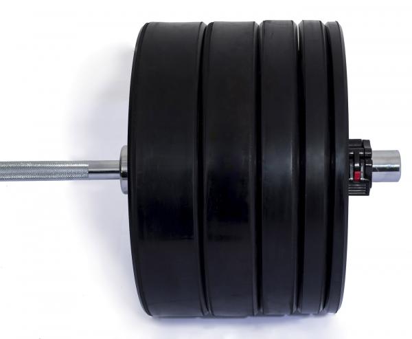 Odhazovací gumový kotouč bumper plate training na oseg