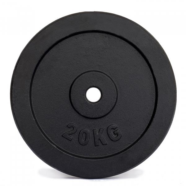 Litinový kotouč černý lakovaný 20kgg