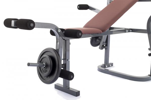 Posilovací lavice na bench press TRINFIT Bench FX2 detail kopačg