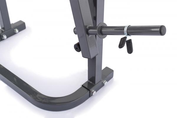 Posilovací lavice na bench press TRINFIT Bench FX2 detail trng