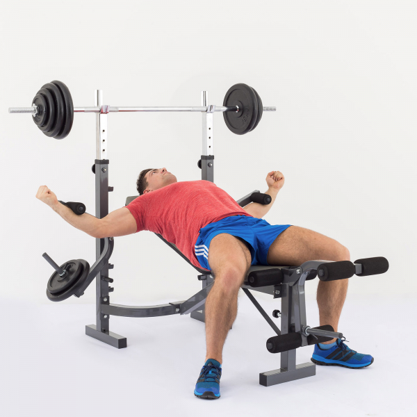 Posilovací lavice na bench press TRINFIT Bench FX3 cvik peck-deckg