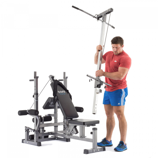 Posilovací lavice na bench press TRINFIT Bench FX5 PR kladkag