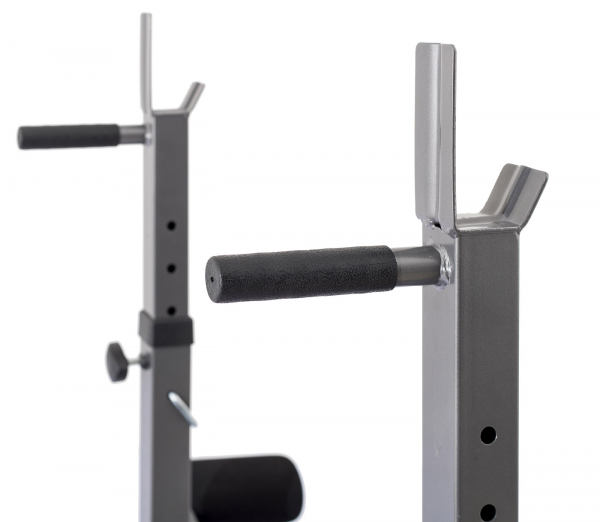 Posilovací lavice na bench press TRINFIT Bench FX5 detail bradlag