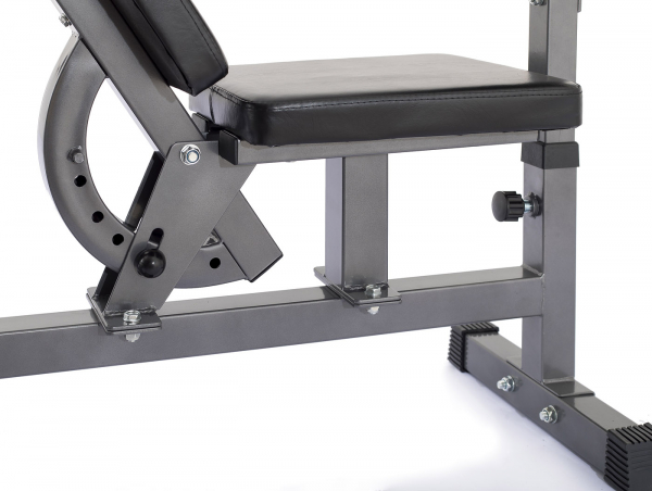 Posilovací lavice na bench press TRINFIT Bench FX5 detail sedákg