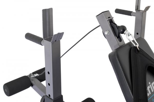 Posilovací lavice na bench press TRINFIT Bench FX5 detail tricepsg