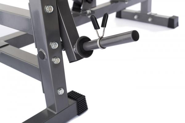 Posilovací lavice na bench press TRINFIT Bench FX5 detail trng