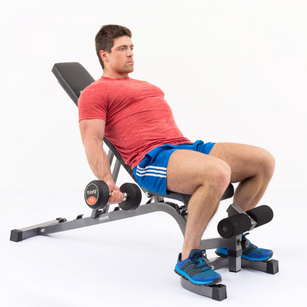 Posilovací lavice na bench press TRINFIT Vario LX6 cvik 18g