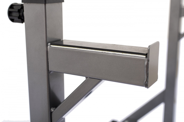 Posilovací lavice na bench press TRINFIT Rack HX3 odkladg
