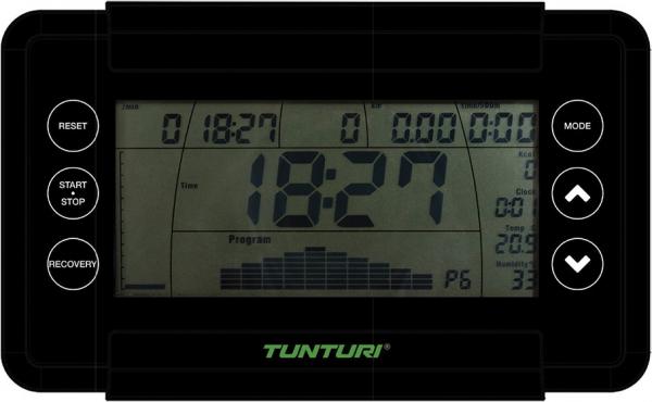 Veslovací trenažér Tunturi R20 počítač