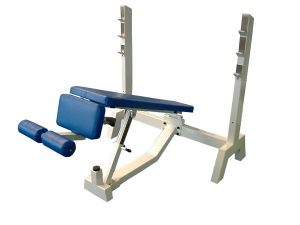Posilovací lavice tlaky hlavou dolů 2g