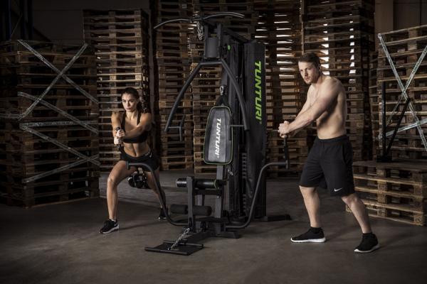 Posilovací věž  Tunturi HG40 Home Gym cvik 1g