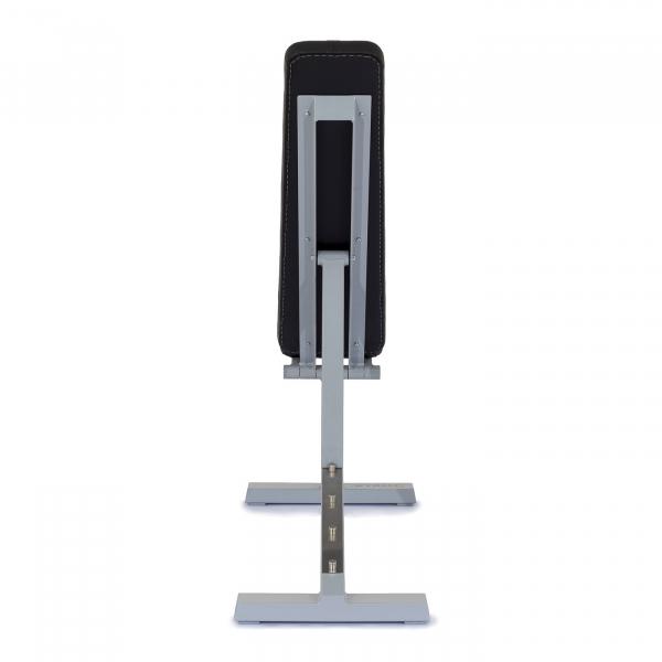Posilovací lavice na jednoručky Posilovací lavice polohovací PROFI šedá zezadug