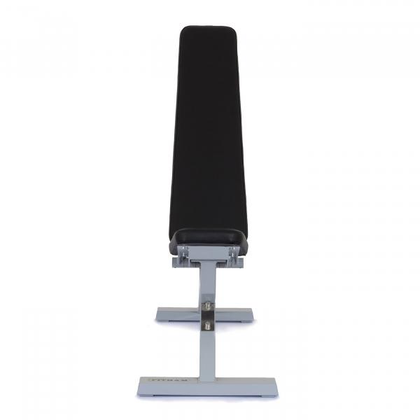 Posilovací lavice na jednoručky Posilovací lavice polohovací PROFI šedá zpředug