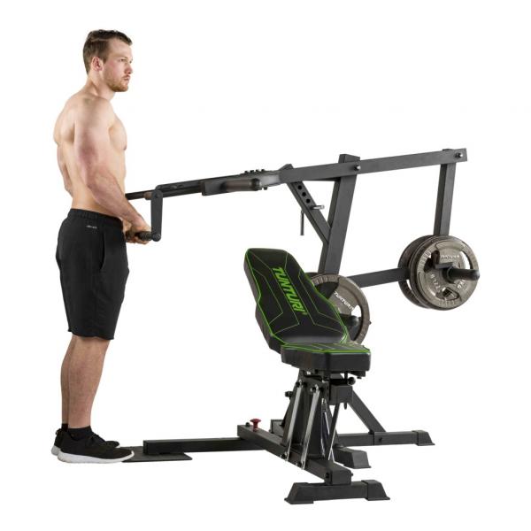 Posilovací věž  Tunturi WT80 Leverage Gym tlaky na triceps