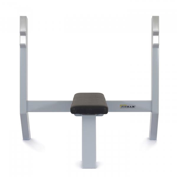 Fitham posilovací lavice bench rovná předníg